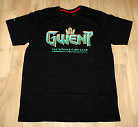 Gwent The Witcher 3 Deck Cards Game Rare Promo T-Shirt Gamescom 2016 Size M
