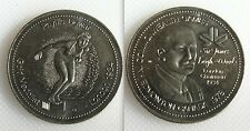 COLLEZIONISMO giochi del Commonwealth TOKEN-Phyllis Dewar-ORO Medalist Londra 1934