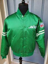 Vintage Authentic Pro Line By STARTER NFL New York NY Jets Satin Nylon Jacket L