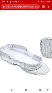 Baby Delight Snuggle Nest Grey And White  In Original Box