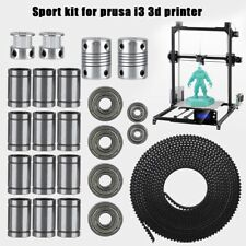 6mm Wide GT2 Belt 3D Printer Kit 20T Pulley LM8UU 608ZZ bearing For Prusa I3 CM