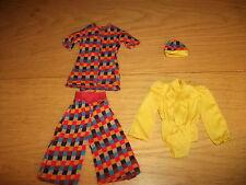 BARBIE / PETRA - vêtements 60/70 ans (Set 12)