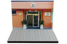 Diorama Stazione Carabinieri - 1/43ème - #43-2-A-A-099