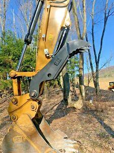 Caterpillar 315 Excavator Hydraulic pin on Thumb Grapple Brush Clamp 316 317 CAT