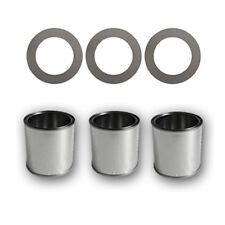 3 Boîtes pour carburant en fer-blanc 0,25 litre + plaques épargne-combustible
