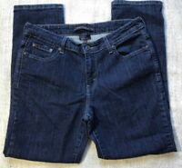 Levi's Women's Size 8 Mid Rise Skinny Denim Blue Jeans Dark Wash