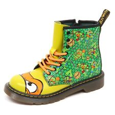 D9864 (WITHOUT BOX) anfibio bimbo green DR. MARTENS MIKEY boot kid