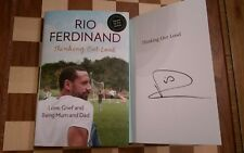 Thinking Out Loud Love Grief & Being Mum & Dad SIGNED Rio Ferdinand HB 1st/1st