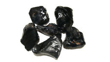 5 LB LOT OF BLACK SOLID OBSIDIAN ROUGH - FROM MEXICO - TOP QUALITY
