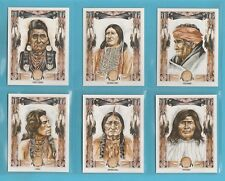 AMERICANA  -  VICTORIA  GALLERY  -  10  SETS  OF  48  WILD  WEST  CARDS  -  1993