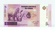 Congo Democratic republic 5 Francs 1.11.1997 UNC