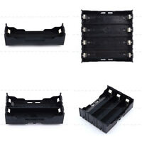 Wholesale ABS Storage Box Holder Case For 1/2/3/4 Li-ion 18650 Battery With Pin