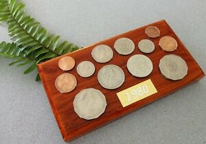 1980 Australian Decimal Coin Set (wall plaque). Great 41st birthday gift in 2021