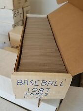 1987 Topps Baseball Card Complete Set (1-796) Near Mint to Mint READ (AYC)