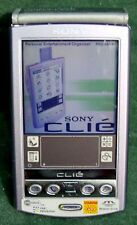 Sony Peg-N610C Clie Color Lcd Handheld Pda Unit 8Mb Purple movies expansion slot