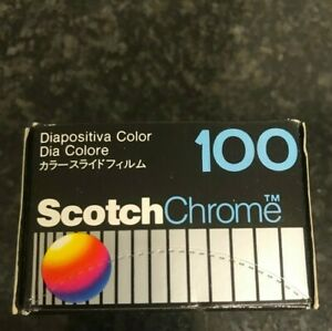Scotch Chrome 100 COLOR SLIDE  35mm EXPIRED FILM out of date