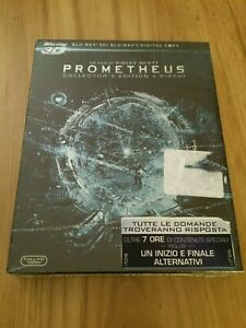 Prometheus Collector's Edition Blu-ray 2D + Blu-ray 3D Nuovo Sigillato Limited