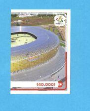 PANINI-EURO 2012-Figurina n.9- ARENA GDANSK DX -NEW-WHITE BOARD
