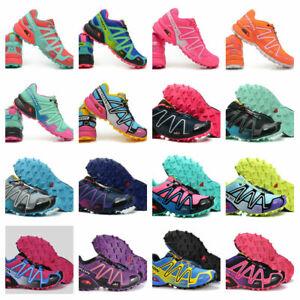 Hot Women's Speedcross 3 Athletic Sneakers Running Outdoor Hiking Shoes