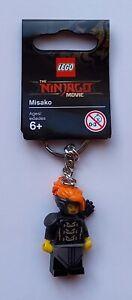 LEGO Misako Keychain/Keyring - Lego Ninjago Movie 853756 (Retired)