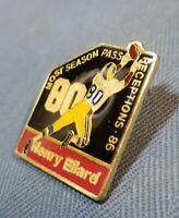 Vintage Henry Ellard Football Pin St. Louis Rams TD Receptions Lapel Pin  (#36)