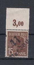 Briefmarken All.Besetzung 1948 Bezirksstemp. 41 Werdau Mi.171 postfrisch geprüft