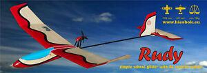 RC glider Rudy