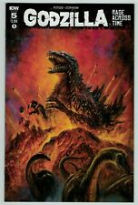 Godzilla Rage Across Time 5 regular cover IDW Comics 2016 VF NM