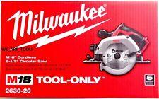 New In Box Milwaukee 2630-20 Cordless Battery 6 1/2 Circular Saw M18 18 Volt 18V