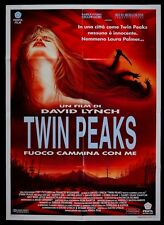 M110 MANIFESTO 2F  FUOCO CAMMINA CON ME TWIN PEAKS LYNCH SHERYL LEE DAVID BOWIE