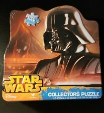 NEW - 1000 Piece Jigsaw Puzzle - Star Wars DARTH VADER Collectors Tin  -15x12.5