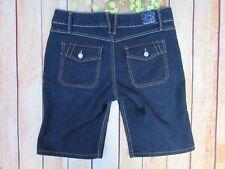 Fade to Blue Denim Jean Shorts Women's Size 6 Stretch Dark wash
