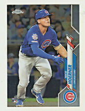 2020 Topps Chrome #161 NICO HOERNER RC Rookie Chicago Cubs