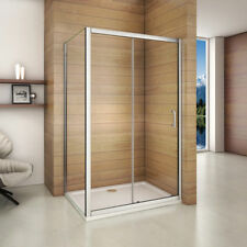 1500x760mm Sliding Shower Enclosure Walk in Glass Screen Door Side Panel  XC