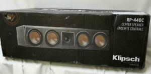 Klipsch RP-440C Center channel speaker (Ebony)