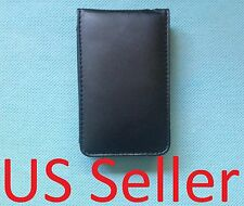 Black leather Case for apple ipod classic 160GB NEW w/ screen protector 120GB
