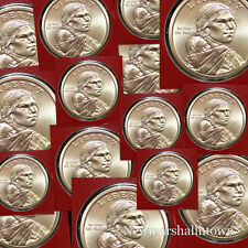 2019 D Native American Sacagawea Dollar Roll 25 ea from Mint Set in Mint Wrapper