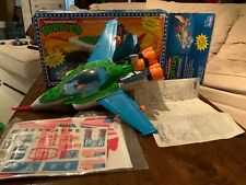TMNT Bubble Bomber (1992) 99% Complete with Box Blueprints And Unused Stickers