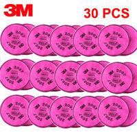 30PCS 3M 2097 filter P100 for 6200/6800/7502 Gas Mask Respirator Facepiece RES