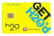 H2O Wireless AT&T Compatible DUAL STANDARD AND MICRO SMART SIM IN ONE
