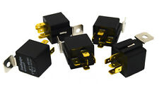 5 Pack Audiopipe 12v 5 Pin SPDT 30/40 Amp Relay Sealed Metal Tab Auto Marine