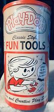 Play-Doh Classic Tools Canister Playset #01500 Sealed NEW Retro Packaging