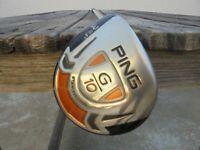 Ping G10 3 Fairway Wood Golf Club Left Hand Graphite Shaft Tour Platform Wrap