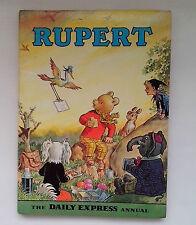 Original 1972  RUPERT BEAR Annual   - with original price and no inscription