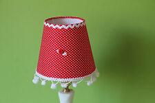 zauberhafter Lampenschirm Aufsteckschirm Stoff    325Q