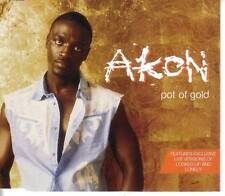 AKON Pot of Gold w/ LONELY & LOCKED UP LIVE CD Single
