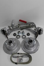 GALVANISED MECHANICAL DISC BRAKE FULL KIT FORD BOAT TRAILER CAR CAMPER  PARTS