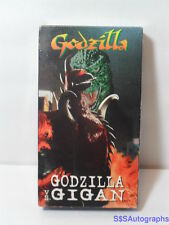 NEW Sealed 1972 GODZILLA VS. GIGAN Alien Monsters (1997 VHS) COLOR Sci-Fi Horror