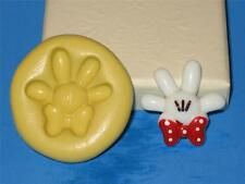 Mickey Minnie Mouse Hand 2D Push Mold Food Silicone Mould A194 Cake Topper Wax