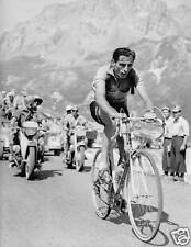 FAUSTO COPPI VINTAGE RETRO ITALIAN CYCLING POSTER